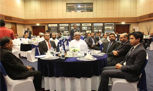 Indian Embassy organized at its premises a B2B Meeting on IT Sector on 29th March 2017. About 80 businessmen joined the B2B Meeting including representatives of 10 Indian companies participating in COMEX and 30 Oman companies from ICT Sector. H.E. Redha Juma Mohammed Ali Al Saleh, Vice Chairman of Oman Chamber of Commerce and Industry, Sultanate of Oman was the Guest of Honour.