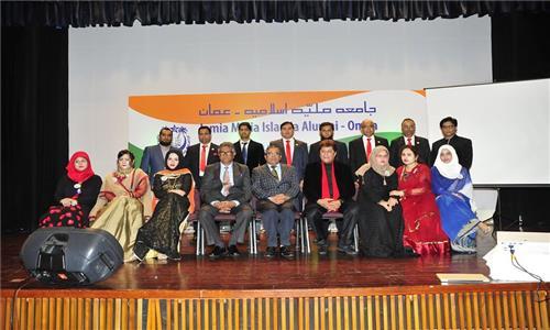 Alumni of Jamia Millia Islamia in Oman celebrated its 96th Foundation Day at the Embassy on 24th February 2017 in presence of Prof. Talat Ahmad, Vice Chancellor of Jamia.