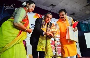 Ambassador inaugurated Sharadotsav, organized by Bengali Wing of Indian Social Club Oman during 1 -2 September 2017