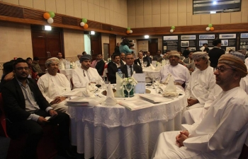 Embassy of India, Muscat, organized an India-Oman B2B Meeting on 17 September 2017
