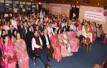 Mrs. Sushma Pandey, was invited as Chief Guest for 'PINK TORCH BEARER' Breast Cancer Awareness Event 2017 which was organised by BarakathAlNoor Clinic.