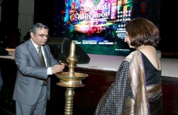 Ambassador was invited as Chief Guest for the Annual Concert- 'Beyond Bollywood' organized by Charity Wing- Indian Social Club, Muscat.