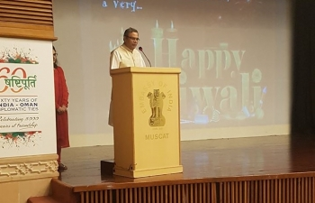 Embassy of India, Muscat hosted dinner for its Media friends on the auspicious occasion of Deepavali.