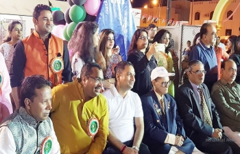 Ambassador was invited to the main guest 'Purwaiya Mela' organized by Bhojpuri Wing of Indian Social Club, Muscat.