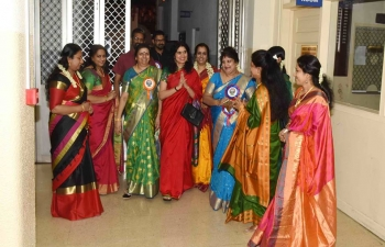 Mrs. Sushma Pandey, Wife of Ambassador was invited as Chief Guest for Annual Women's Day Celebration which was organized by Malayalam Wing of Indian Social Club.