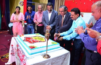 """Ambassador attended, as Chief Guest, the annual """"Christmas and New Year Celebrations"""" of Kerala Wing of Indian Social Club Oman held on 5th January 2018."""