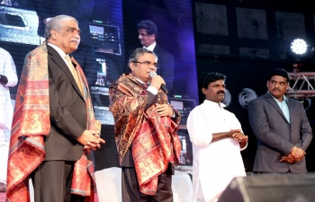 Ambassador was the Chief Guest at the first 'Telangana Dhoom-Dhaam', a telugu dance and music fiesta, organized by Telangana Wing of Indian Social Club, Oman on 22nd December 2017.