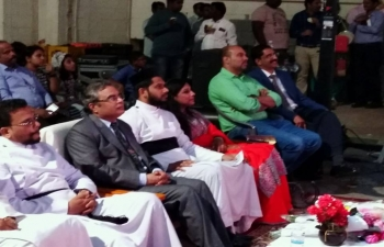 Ambassador was invited as Chief Guest to inaugurate the Annual Manna Mega Fest, organized by St. Mary's Jacobite Syrian Orthodox Church, Muscat. This event raises funds to support charity to the poor and sick