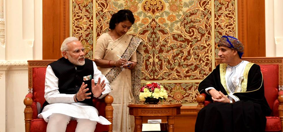 Visit of Hon'ble Prime Minister Shri Narendra Modi to the Sultanate of Oman on 11-12 February 2018