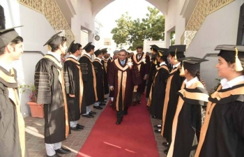 Ambassador was invited as Chief Guest to the Graduation Ceremony of Class XII of Indian School Muscat on 17th February 2018.