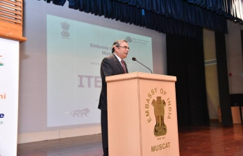 The Embassy of India, Muscat, celebrated 'Indian Technical & Economic Cooperation Programme (ITEC) Day' on Tuesday, 6th March 2018. Around 150 ITEC Alumni from Oman, comprising Omani Officials and professionals, who have participated in various training courses in India under ITEC Programme during previous years, attended the celebration.