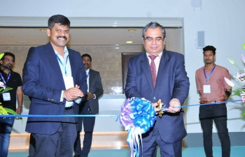 Ambassador inaugurated on 12th March'18, the Indian section of Big Show Oman 2018, an annual exhibition dedicated to construction and realty sectors, in which 25 Indian companies are taking part, representing India's realty as well as building materials and accessories sectors.