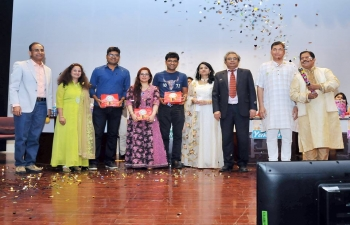 Ambassador Shri Indra Mani Pandey was invited as Chief Guest to the Annual Antakshari Programme, hosted by Hindi Wing of Indian Social Club, Muscat on 4th May 2018 at Embassy Auditorium.