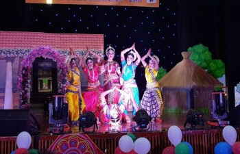 Ambassador was invited as Chief Guest to celebrate 'Utkal Divas', also known as Odia Day, which was organized by Odia Wing of Indian Social Club, Muscat on 27th April 2018 at Embassy Auditorium.