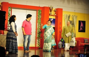 "Ambassador was invited as Chief Guest to the 3rd Drama of Marathi Drama Festival named ""4M NatyaMahotsav 2018"", organized by Marathi Wing of Indian Social Club, Muscat at Indian Embassy Auditorium."