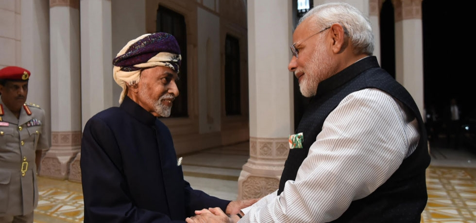 Visit of Hon'ble Prime Minister Shri Narendra Modi to the Sultanate of Oman on 11-12 February 2018