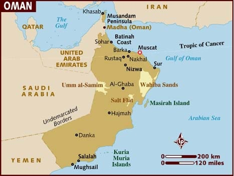 Embassy of India, Muscat, Oman : Oman Fact Sheet