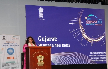 The Embassy, organized a Vibrant Gujarat Roadshow on Tuesday 2 October 2018, to promote 'Vibrant Gujarat 2019 Summit
