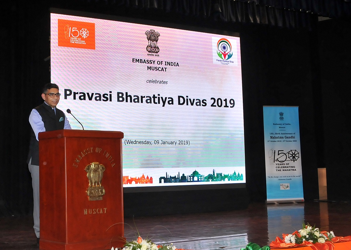 Embassy celebrates Pravasi Bharatiya Divas on 09 January 2019