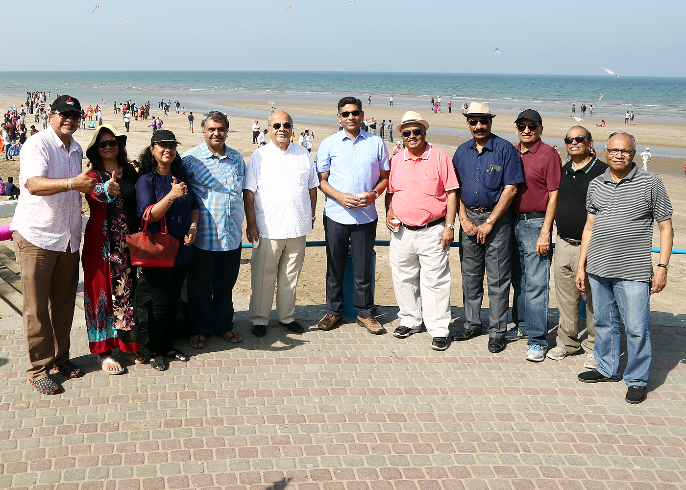 The Indian community in Muscat celebrates Kite Flying Festival - Patangmahotsav 2019