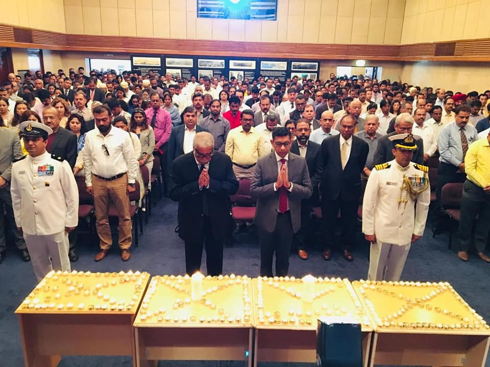 Indian community in Oman pays homage to the martyrs of Pulwama terror-attack at a prayer meet organized in the Embassy.""