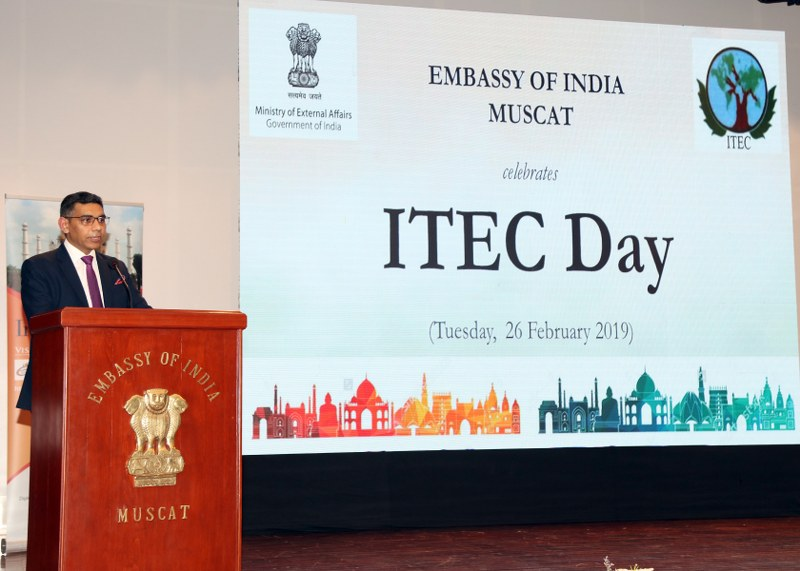 Embassy of India, Muscat celebrates ITEC Day