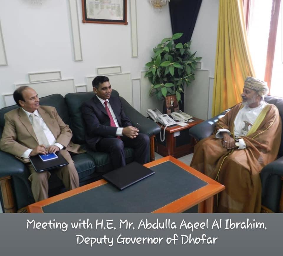 Ambassador visits Salalah