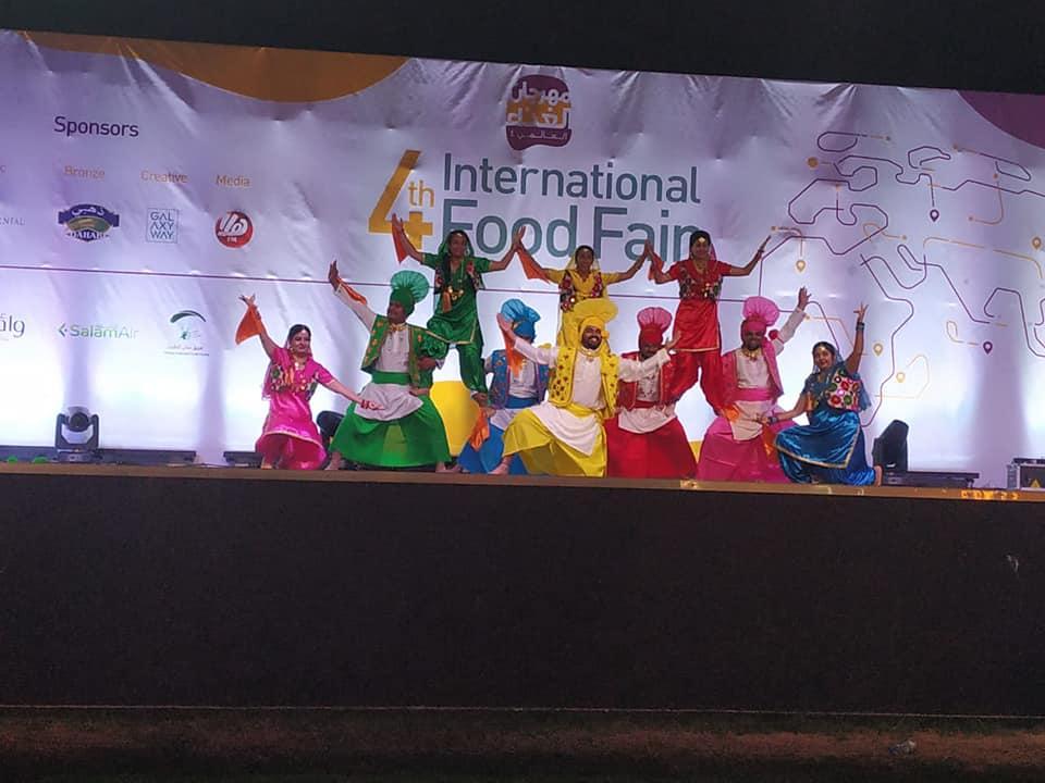 India participates in the 4th International Food Fair in #Muscat organized by Dar Al Atta Society Dar Al Atta'a