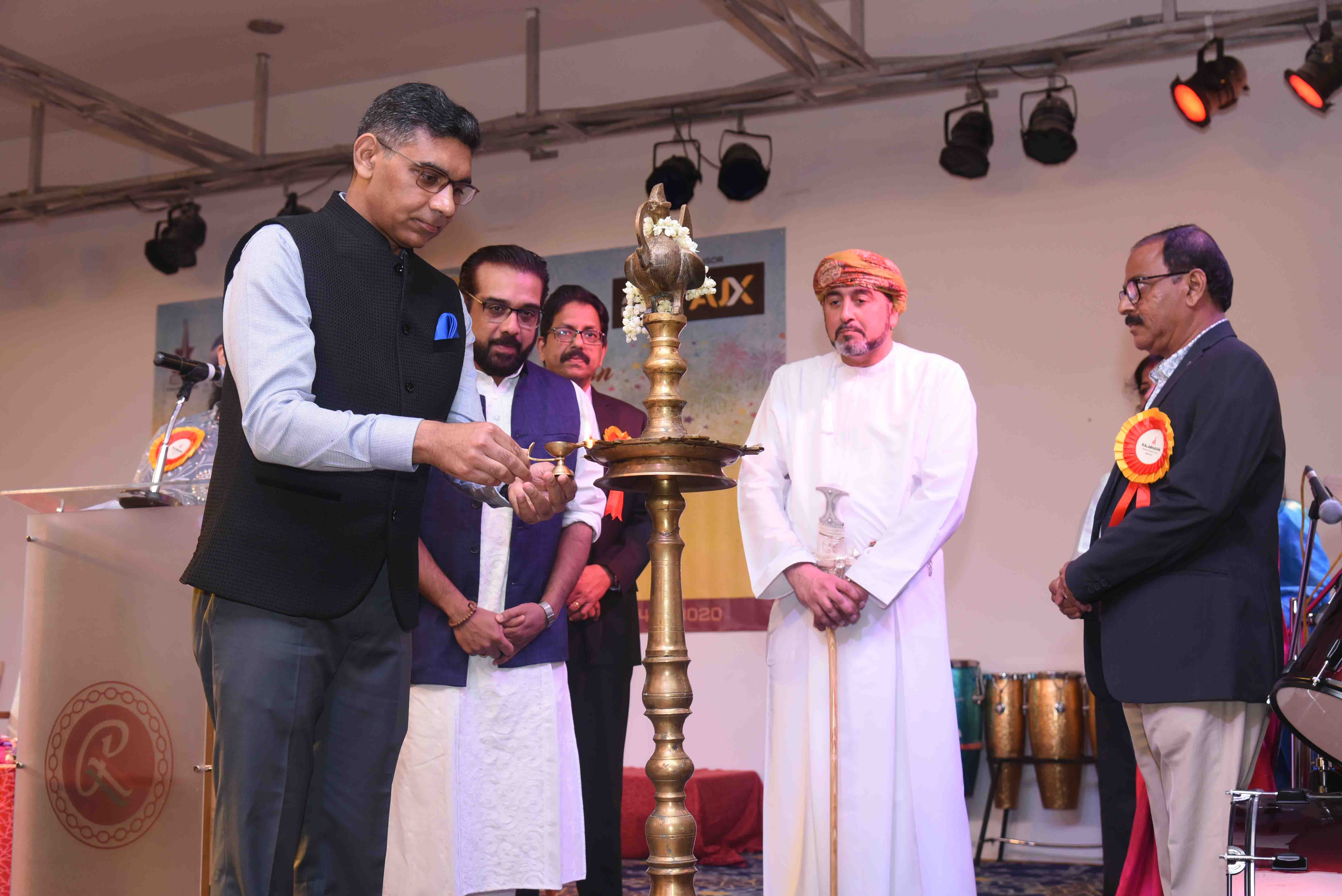 Ambassador was Chief Guest at the 13th Annual Day Celebration of Kalabhavan Muscat-Music and Art Training Institution in Oman.