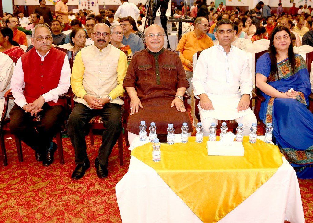 "Ambassador was Chief Guest to ""Varsha Pratipad Otsav, Bhartiya Nav Varsha""- Yugadi Celebration, which was organized by Sanskrit Wing in association with Marathi Wing, Andhra Wing, Telangana Wing, Kannada Wing and Sindhi Wing of Indian Social Club."