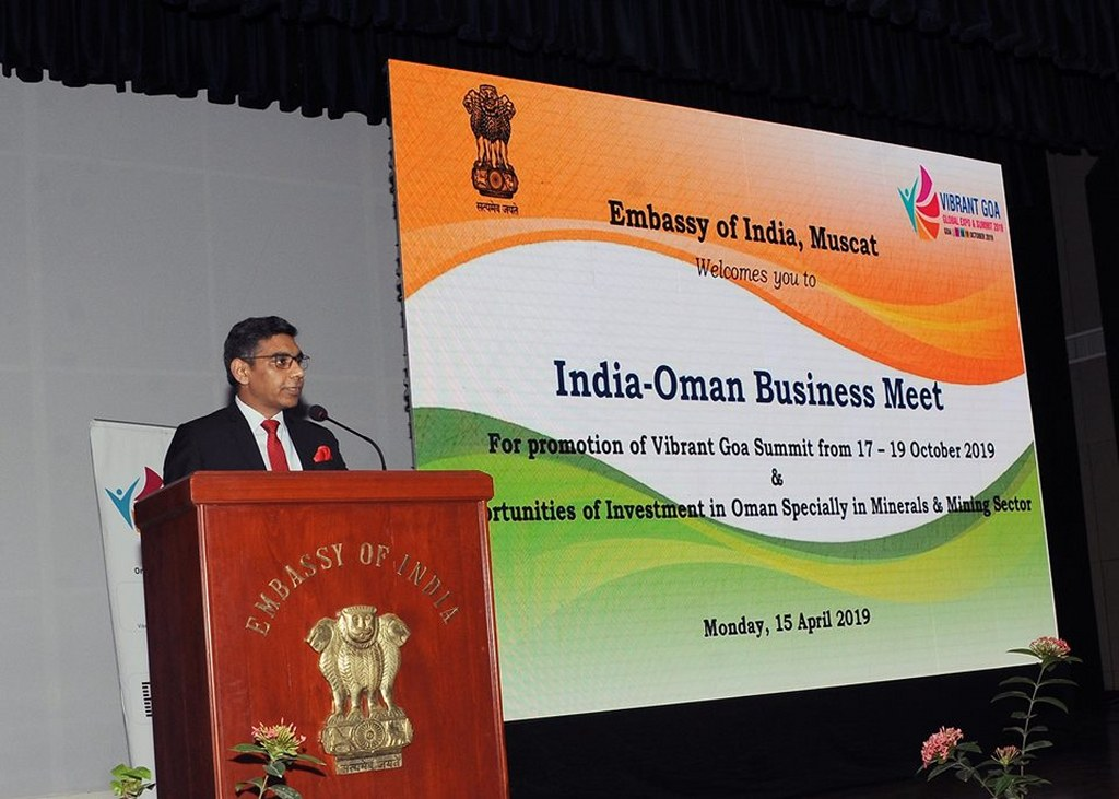 Embassy organized a Roadshow promoting Vibrant Goa Global Expo & Summit 2019. Business opportunities between India and Oman, including investment opportunities for Indian companies in mining sector in Oman and in Duqm SEZ, were highlighted.