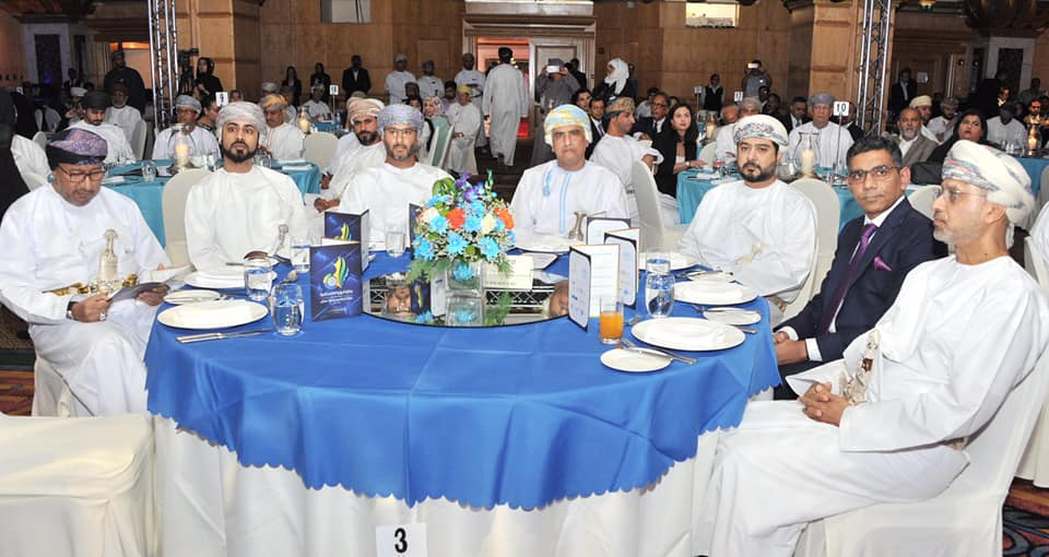 "Celebrating India-Oman economic partnership: India was the partner country for ""Al Roya Business Awards 2019"". Leading India-Oman joint ventures and Indian enterprises were honoured."