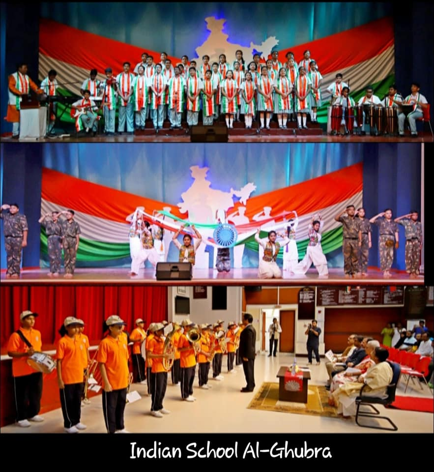 Independence Day was celebrated across Indian Schools in Oman.