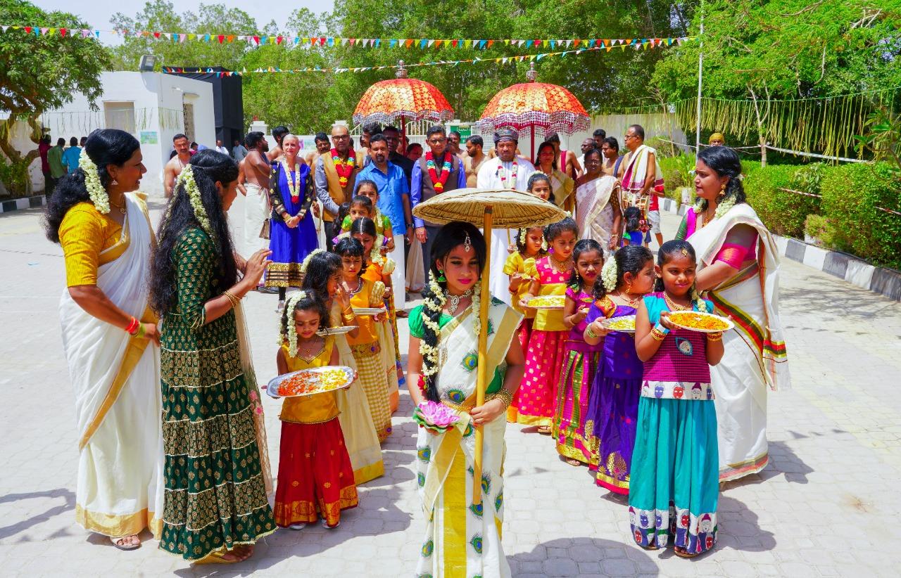 Ambassador attended 'Utsav 2019- Colours and Flavors Festival' on Friday- 13 September 2019.
