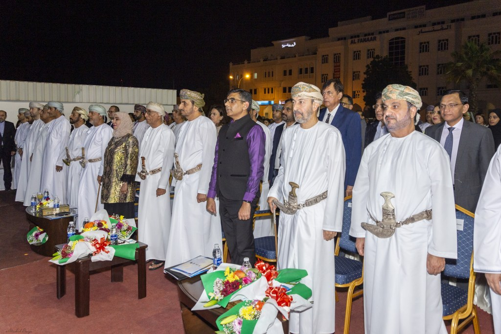 Celebrating cultural bonds developed over millennia! Some glimpses of Oman- India Art Exhibition.