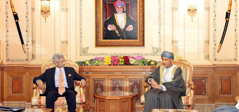 Visit of Hon'ble External Affairs Minister Dr. S. Jaishankar to the Sultanate of Oman on 23-25 December 2019
