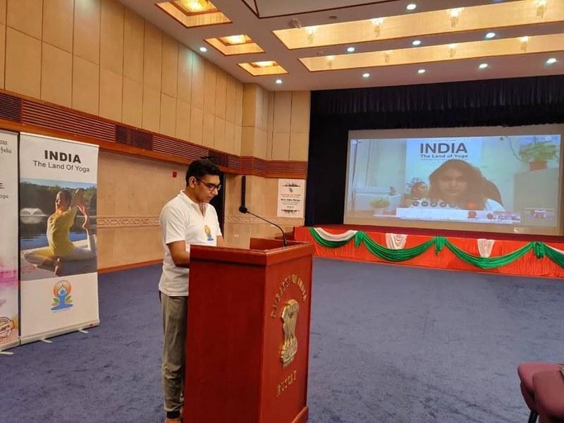 Celebration of 6th International Day of Yoga in Oman - Online